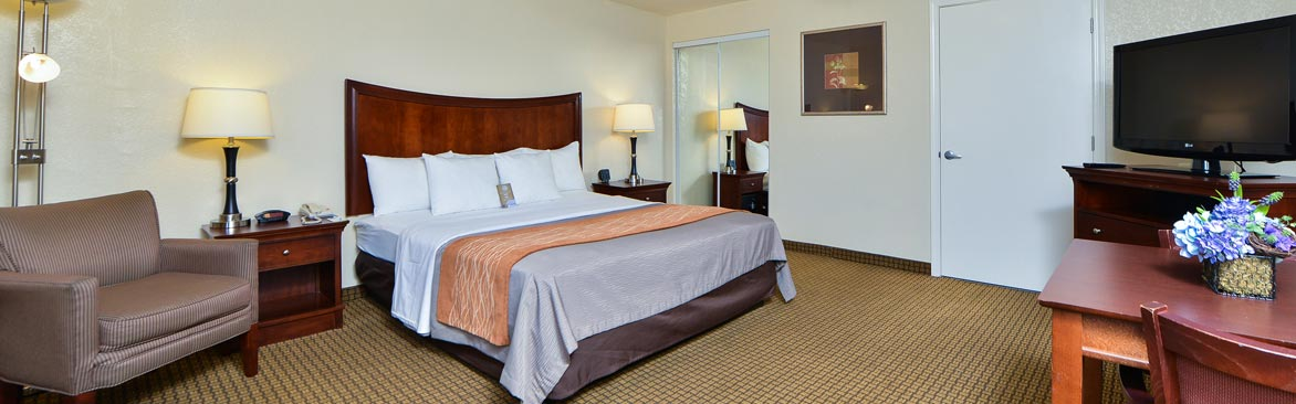 Comfort Inn Monterey Bay Rooms